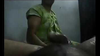 South Indian Aunty Juicy Hand Job