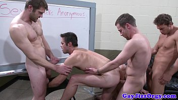 Become uk gay porn model - Trevor knight in orgy with four stars