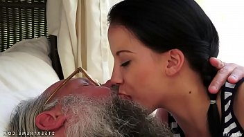 Naked men and women kissing - Old young kissing compilation