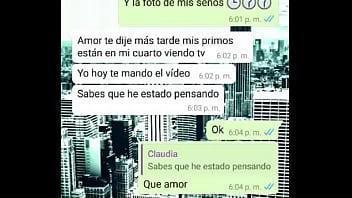 Claudia teacher from Cartagena