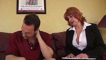 Sexy redhead MILF fucked and jizzed - Babebj.com