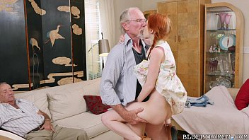 Pigtailed Redhead Teen Fucked By 75 Year Old thumbnail