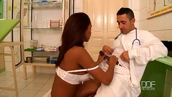Blue Angel And Katia De Lys Have A Wild Threesome At The Clinic