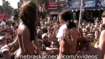 Spring break videos naked - Beach party home video from spring break south padre part 2