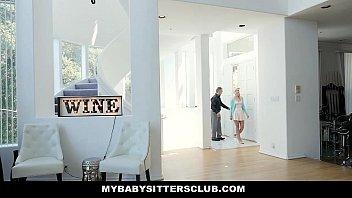 MyBabysittersClub - Super Cute BabySitter (Eliza Jane) Fucks For Money 12 min