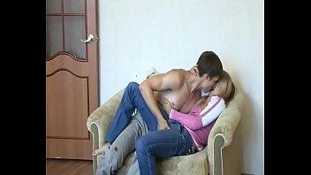 Alexey fucks Irina in her home
