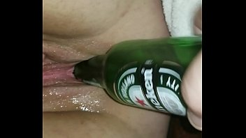 Bottle fucked and drank my wife
