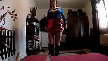 Caroline Tosca licks my balls (Supergirl Cosplay)