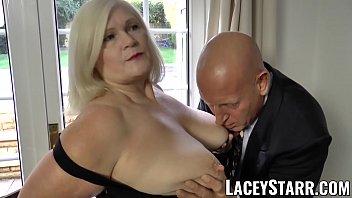 LACEYSTARR - Naughtiest grandma analled before cumshot