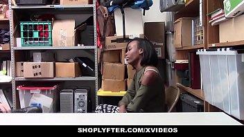 ShopLyfter - Cute Ebony Teen Recorded Store Fuck thumbnail