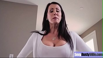 (Reagan Foxx) Busty Sexy Housewife In Hardcore Sex Scene Clip-22