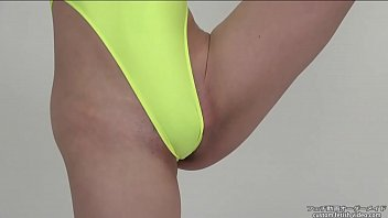 Leotard Fetish A woman who flexibly exercises while showing pubic hair 13 min