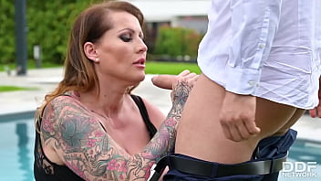 Tittyfucking Orgy with Voluptuous Nymphos Cathy Heaven & Laura Orsolya 13 min