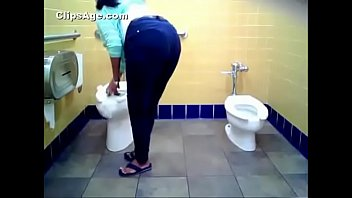 Public toilet hidden camera