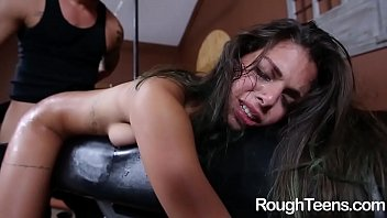 Gina Valentina in the Domination Barn