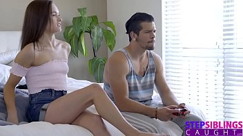 StepSiblingsCaught - Gamer StepBro Wants 2 Players On His Cock S8:E3