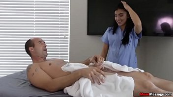 Men become weak handjob Horny guys cock becomes hard thick during massage