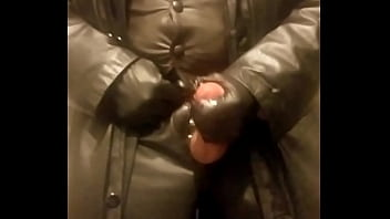 Gay leather cigar Leather, cigar cumming