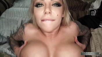 """""""I Just Wanna Make You Feel Good"""" - Big Boobed Step d. Karma Rx Takes Care Of Dad's Cock porno izle"""