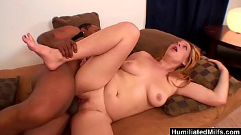 Cock cunny - Humiliatedmilfs - big black cock makes orgasmic blonde wildly cum