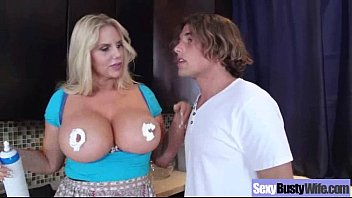 Mature Lady (karen fisher) With Big Melon Tits Fucks video-03