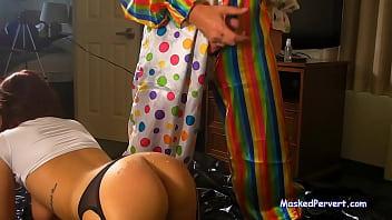 Anal School Girl Meets Pervert Clown