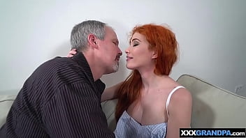 Teen wants to know what mom likes so she fucks old cock