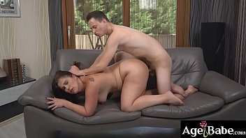 Nikki is still a winner by licking,   fingering and banging Montse's mature cunt