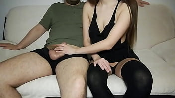Boy films her naughty girlfriend getting fucked in the pussy!