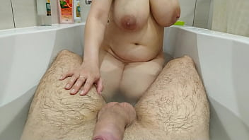 Step Sister Plays With My Cock In The Bathroom