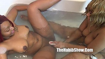 the best lesbian strap freaks golden and thickred phat bootys (new) 6 min