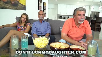 DON'T FUCK MY DAUGHTER - Liza Rowe Fucked By Glen While Daddy Sleeps thumbnail