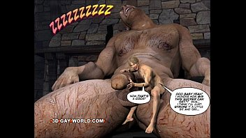 Gay spanking 3d toons - Jack and the beanstalk gay comic version by 3d gay world