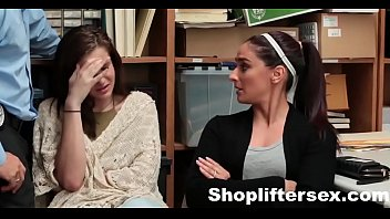 Mom & Daughter Caught & Fucked For  |shopliftersex.com video