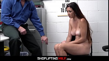 Big Tits MILF Artemisia Love Caught Shoplifting Cat Food Fucked By Officer After Deal