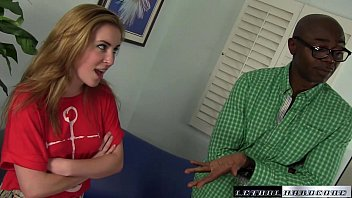 Jessie gets taught an interracial lesson for skipping class by BBC
