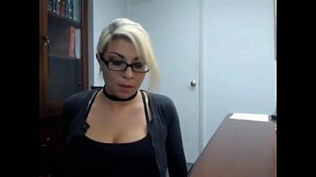 secretary caught masturbate at work for real- more at hotcam4.com preview image