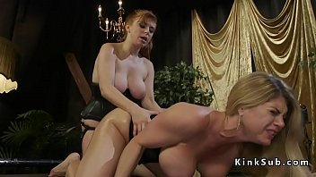 Redhead anal fucks monster tits lesbian