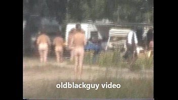 English nudists Oldblackguy takes danielle to the nudist camp part 2