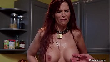Busty Milf housewife trainee is fucked