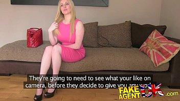 Fakeagentuk Busty Blue Eyed Scottish Chick Gets Creampie In Fake Casting