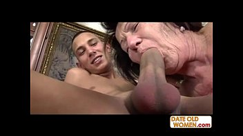 Dad fucking grandmother Cum on my grandmoms face