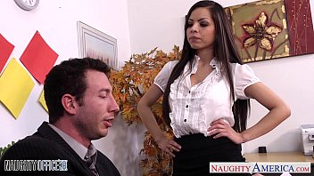 America miss nude picture - Chesty brunette yurizan beltran gets fucked in office