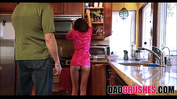Dad daughter sexy Daddys breakfast