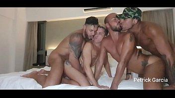 SURUBA WITH PETRICK GARCIA, VIKTOR ROM, MINOTAURO AND TONY DIAS