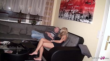 Husband Caught German Wife Cheating and Join Threesome 10 min