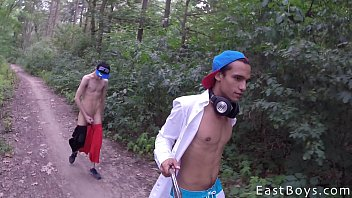 Fun with gay boys - Cute twinks enjoying a adventure holidays