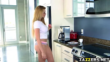 Annoying Tyler fucks with Skyla Novea in the showers