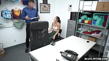Brooklyn Gray compromises with the LP Officer and strips her clothes off in front of him