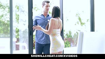 Streaming Video SheWillCheat - Hot Wife Devours Trainers Cock - XLXX.video